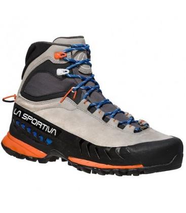 La Sportiva TX 5 GTX Woman Approach Boots - Grey/Cobalt Blue
