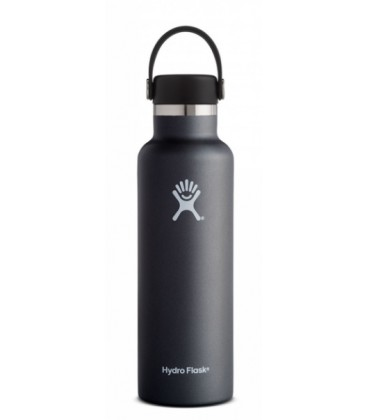 Hydro Flask - Standard Mouth 21oz - Negre