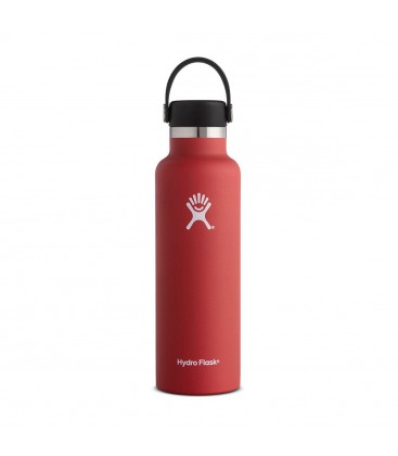Hydro Flask - Standard Mouth 21oz - Rojo