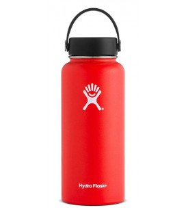 Hydro Flask - Wide Mouth 32oz - Rojo