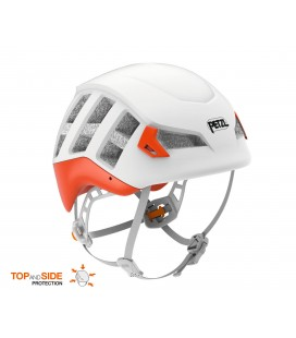METEOR - PETZL -  WHITE/ORANGE