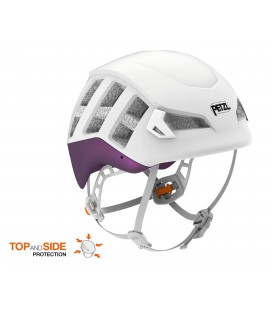METEOR - PETZL -  WHITE/PURPLE