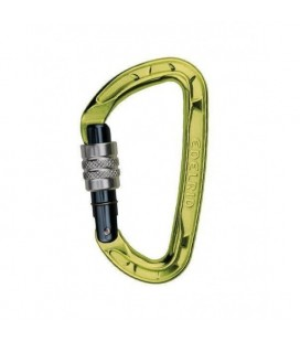 PURE SCREW CARABINER - EDELRID - GREEN