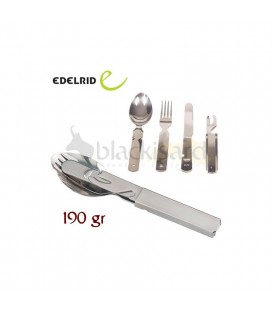 STAINLESS STEEL CUTLERY SET - EDELRID