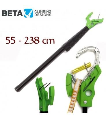 Beta stick evo ultra compact - Pertiga extensible para premosquetonear