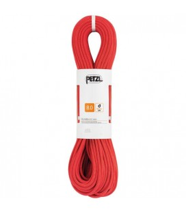 Corda Rumba - 8MM - 60M - PETZL - COLOR VERMELL