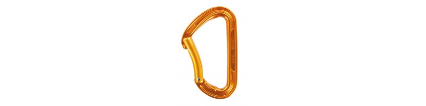 Carabiners and quickdraws