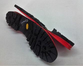 suela vibram ibs para reparación de botas